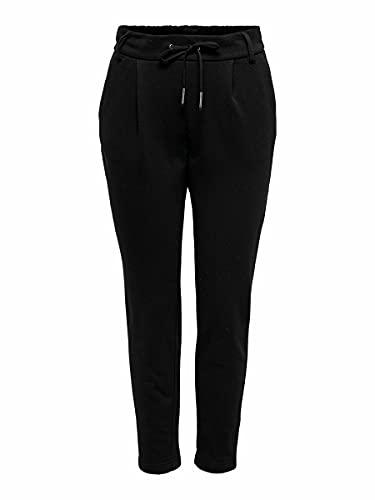Only ONLPOPSWEAT Every Life Easy PNT Noos Pantalón de Vestir, Black, L/32 para Mujer