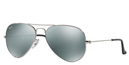 Ray-Ban - Gafas de sol, Hombre, RB3025 AVIATOR LARGE METAL, W3275