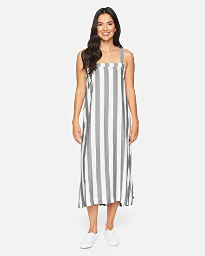 Hurley W Alani Midi Dress Vestido, Mujer, Black, XS