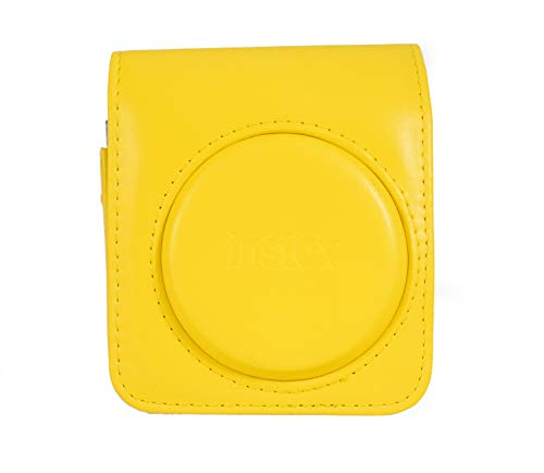 Fujifilm Funda instax mini 70 yellow polipiel Funda original instax para cámara mini 70 - Color Amarillo Amarillomini