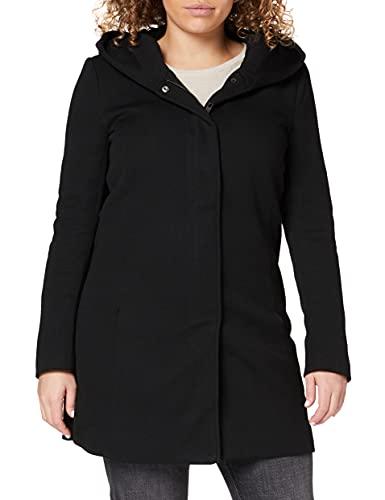 Only Onlsedona Light Coat Otw Noos Abrigo, Negro (Black Black), 40 (Talla del Fabricante: Large) para Mujer
