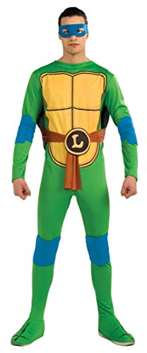 Rubie's-official disfraz - Ninja Turtle TMNT- Disfraz Leonardo Turtle Ninja TMNT - Talla Unica- CS987248
