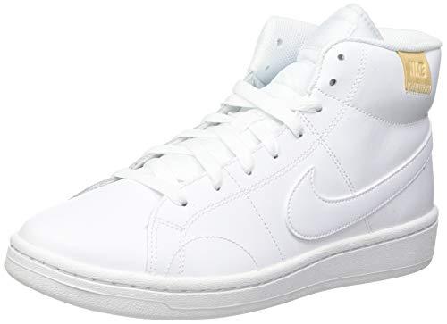 Nike Court Royale 2 Mid, Zapatos de Tenis Mujer, Bianco, 41 EU