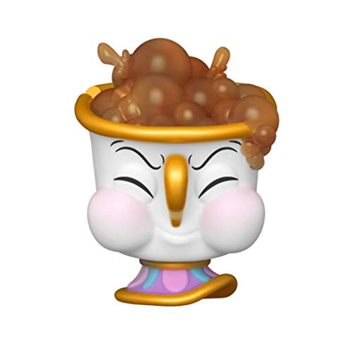 Funko Pop! Disney Beauty and The Beast Chip Burbujas sopladoras Exclusvie