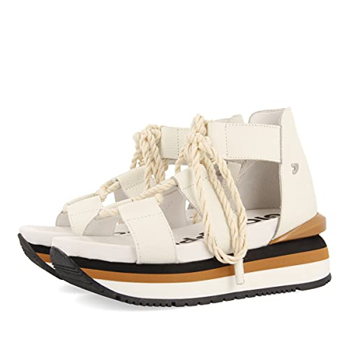 Gioseppo SETIF, Zapatillas Mujer, Blanco, 39 EU