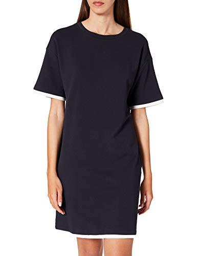 edc by Esprit 031CC1E312 Vestido, 400/azul Marino, M para Mujer