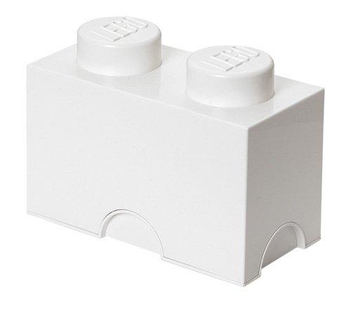 Lego L4002R - Bloque de lego 2, color blanco