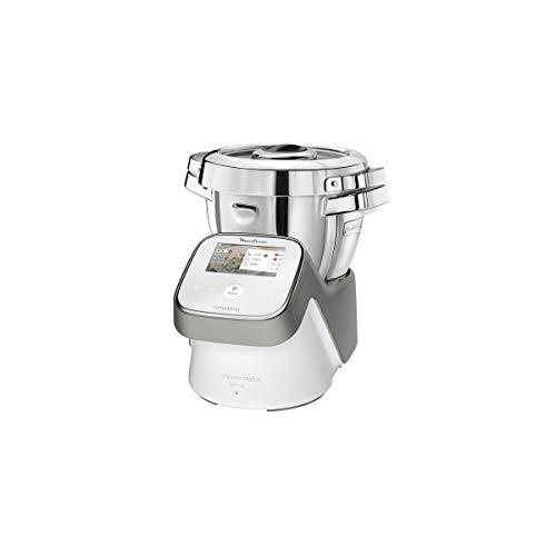 Moulinex hf936e00 i-companion Touch XL - Robot de cocina multifunción (3 L, 1550 W), color blanco
