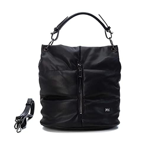 XTI 86538, Bolso de Mujer, Negro, Talla única