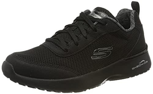Skechers Skech-air Dynamight-fast Brak, Zapatillas Mujer, Negro (Black Mesh/Black Trim Bbk), 38 EU