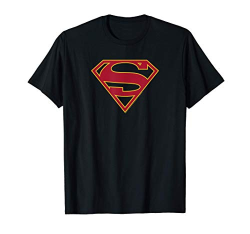 DC Comics Supergirl Shield Logo Camiseta