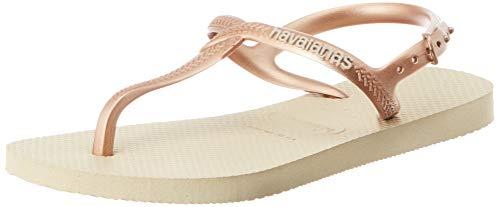 Havaianas Twist, Sandalias con Tira Vertical para Mujer, Beige (Sand Grey 0154), 37/38 EU