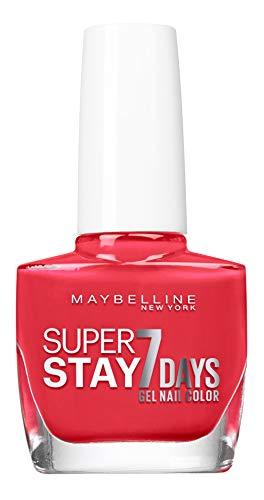Maybelline Mayb VAO T.STRONG BLg 493 Blood Orange esmalte de uñas Rojo - Esmaltes de uñas (Rojo, Blood Orange, Botella, 168 h, 21 mm, 115 mm)