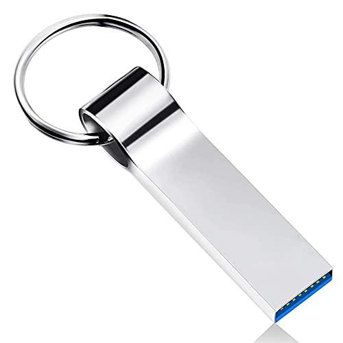 Memoria USB 3.0 de 1 TB de memoria flash Mini USB Stick de alta velocidad impermeable Pulgar unidad de almacenamiento de datos Memory Stick con llavero para PC/ordenador portátil/computadoras/tableta