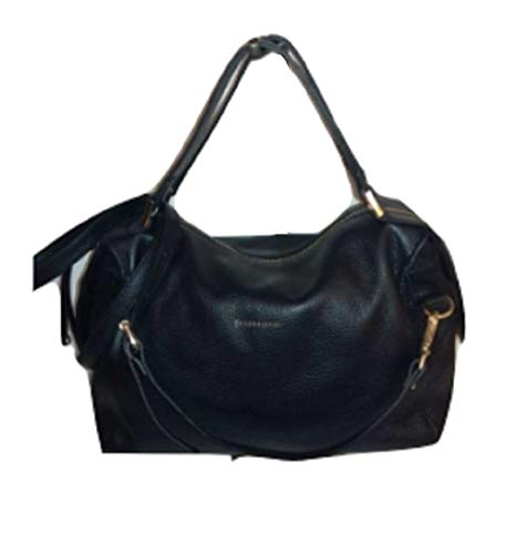 Caterina Lucchi N0005 Bolso de piel Made in Italy baúl medio dólar con correa aplicable
