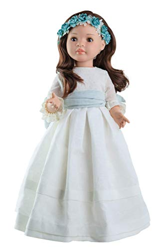 Paola Reina- Comunión - Ropa para muñeca Lidia 60 CM, Multicolor (56519)