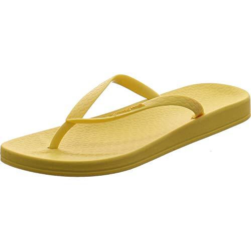 Ipanema Anat Colors Fem, Chanclas Mujer, 9130 Yellow Light Yellow, 37 EU