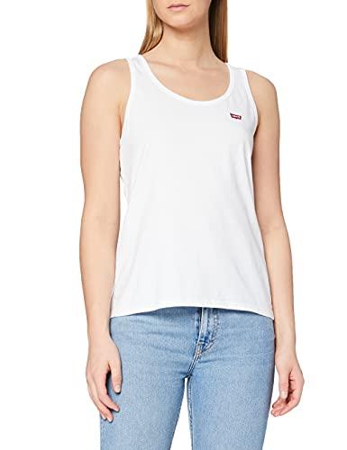 Levi's Essential Tank Camiseta Deportiva de Tirantes, White +, M para Mujer
