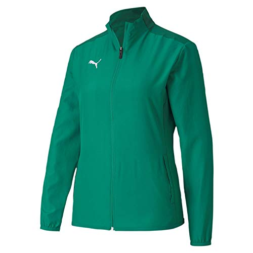 PUMA teamGOAL 23 Sideline Jacket W Chaqueta De Entrenamiento, Mujer, Pepper Green / Power Green, M