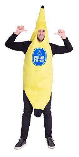 Folat - Disfraz para adulto con motivo de plátano (21950)