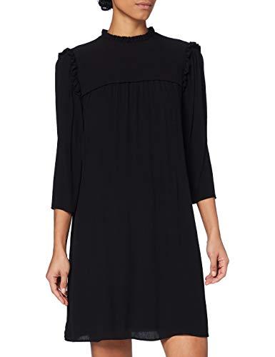 edc by Esprit 110CC1E321 Vestido, 001/negro, 42 para Mujer