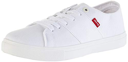 Levi's Pillsbury, Zapatillas Hombre, Blanco (R White 51), 44 EU