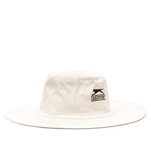 Slazenger Unisex Panamá Sombrero Blanco M/L