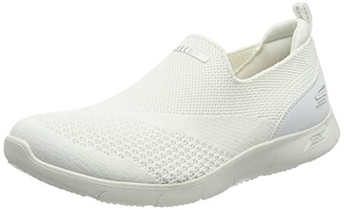 Skechers Arch FIT Refine Don't GO, Zapatillas Mujer, White, 40 EU