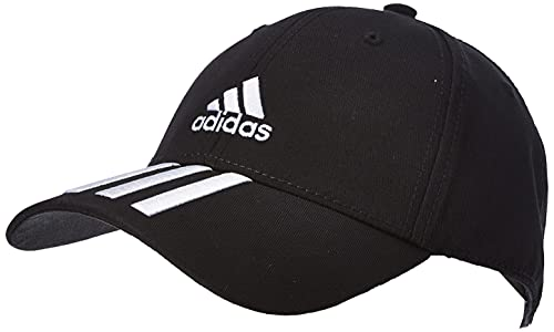 adidas Bball 3s Cap CT Hat, Unisex Adulto, Black/White/White, OSFM
