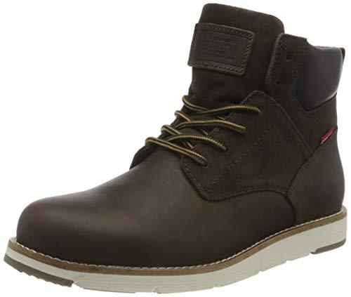 LEVIS FOOTWEAR AND ACCESORIAS JAX PLUS - Zapatillas para hombre, marrón, 45