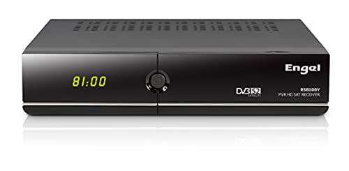 Engel Axil RS8100YX - Receptor TV satélite HD PVR con WiFi, Negro - exclusivo de Amazon