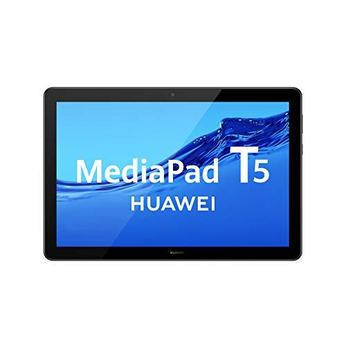 HUAWEI MediaPad T5 - Tablet de 10.1' FullHD (Wifi, RAM de 3GB, ROM de 32GB, Android 8.0, EMUI 8.0), color Negro