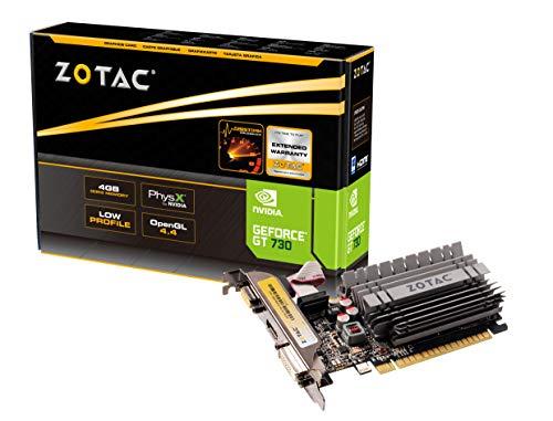 Zotac ZT-71115-20L Tarjeta gráfica NVIDIA GeForce GT 730 4 GB GDDR3