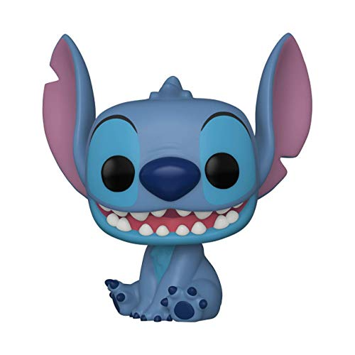 Funko 55617 POP DisneyLiloandStitch-Smiling Seated Stitch