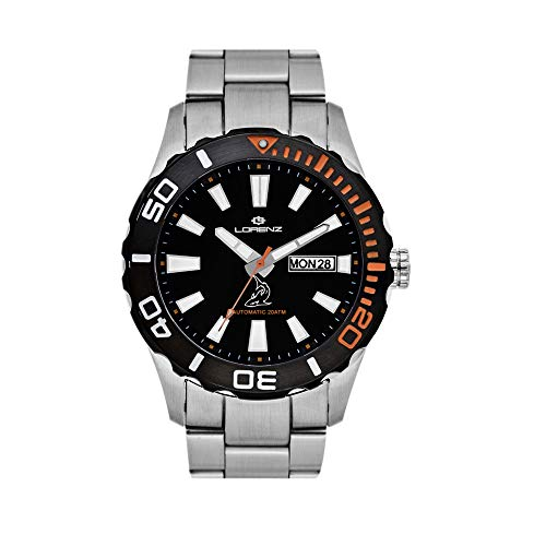 Reloj mecánico para hombre Lorenz Shark II deportivo cód. 030107AA