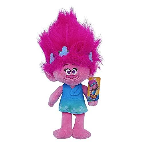 WHL DreamWorks - Peluche Trolls Poppy, 40cm (16'), Juguete película Trolls