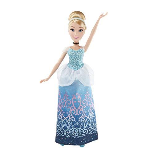 Disney Princess- Cinderella Muñeca, Color Azul Celeste (Hasbro B5288ES2) , Color/Modelo Surtido