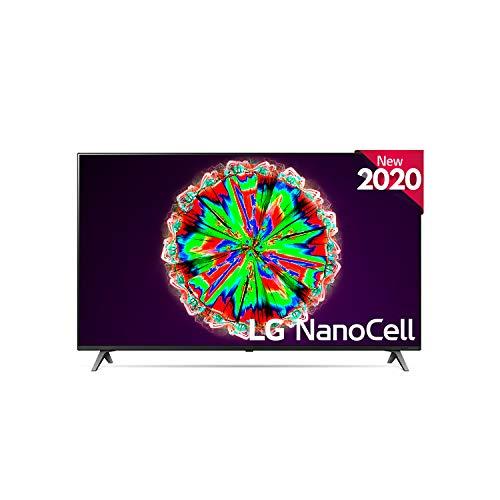 LG 49NANO806NA - Smart TV 4K UHD NanoCell 123 cm (49') Inteligencia Artificial, Procesador Quad Core, Deep Learning, HDR10 Pro, HLG, Sonido Ultra Surround, 4xHDMI 2.0, 2xUSB 2.0, Bluetooth 5.0, WiFi