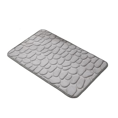 Decorus Alfombra de baño Antideslizantes para baño súper Absorbente y Peluda Suave Alfombra de baño Lavable a máquina para Alfombrillas de baño