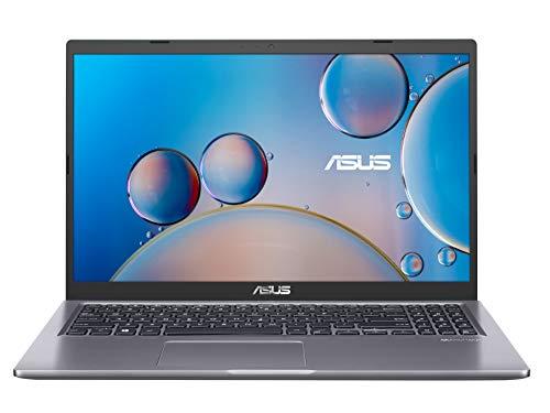 ASUS VivoBook 15 F515JA-BR097T - Portátil de 15.6' HD (Intel Core i3-1005G1, 8GB RAM, 256GB SSD, Intel UHD Graphics, Windows 10) Gris - Teclado QWERTY español