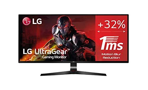 LG LG 29UM69G-B- Monitor Gaming de 29' WFullHD (2560x1080, IPS LED, 21:9, HDMI x1, DisplayPort x1, USB, 5ms, 75Hz, ultrawide, antireflejo), negro