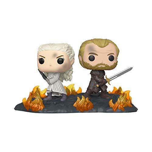 Funko - Pop! Moment: Game of Thrones - Daenerys & Jorah B2B w/Swords Figura Coleccionable, Multicolor (44824)