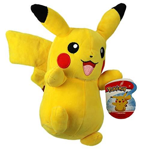 Pokemon 674 95211 8 Pulgadas Felpa-Pikachu, Amarillo