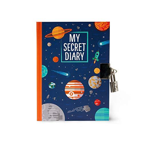 My Secret Diary - Cuaderno de tapa dura, planetas (10,8x15,2cm)