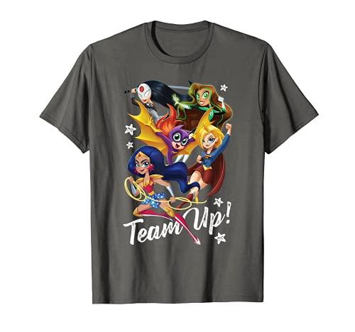 DC Super Hero Girls Team Up Camiseta