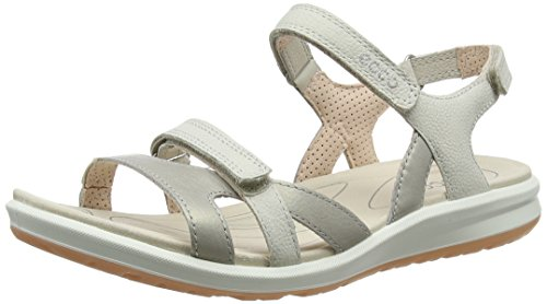 ECCO CRUISEII, Sandalias de Senderismo Mujer, Plateado (Silver Grey/Gravel/Rose Dust 50862), 39 EU