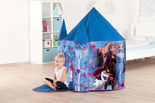 John Disney Eiskönigin Palace Deluxe-Tienda de campaña con Castillo de Frozen, 2, Color Azul (75117)