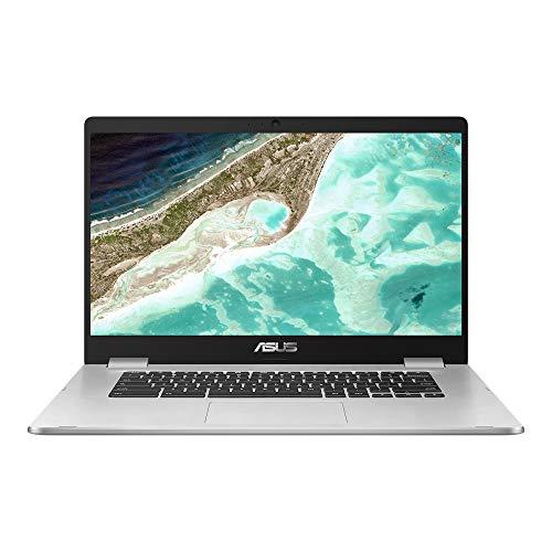 ASUS Chromebook Z1500CN-EJ0400 - Portátil 15.6' Full HD (Celeron N3350, 8GB RAM, 64GB eMMC, HD Graphics 500, Chrome OS) Plata - Teclado QWERTY español
