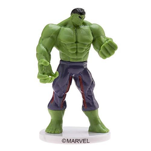 Dekora - Decoracion para Tartas con la Figura de Hulk de 9 cm