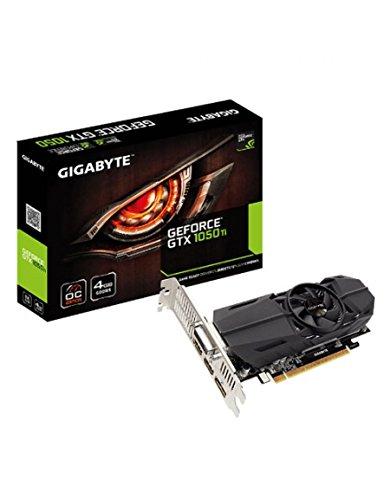 Gigabyte GV-N105TOC-4GL - Tarjeta gráfica Nvidia GeForce GTX 1050 Ti de 4 GB, Color Negro